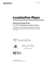 Sony LF-X1, LF-X5 Settings Manual