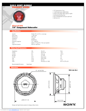 sony xs l101p5 subwoofer manuals rh manualslib com sony xplod 12 subwoofer specs sony xplod 1800w subwoofer review
