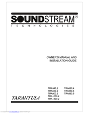 Soundstream TRA1000.2 User Manual