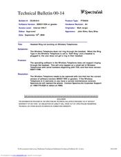 Spectralink link ptb-410 manuals.