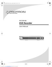 protron pd dvr100 manuals rh manualslib com protron portable dvd player manual protron dvd player pdv-288