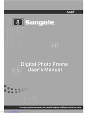 Sungale Aa8f Manuals