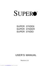 Drivers Supermicro 370DER / 370DER / 370DEI