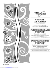 Whirlpool Whispure AP25030K Use And Care Manual