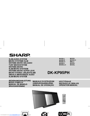 Sharp DK-KP95PH Operation Manual