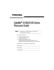Toshiba 7130 Resource Manual