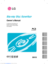 LG WH10LS30 Owner's Manual