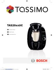 Bosch TAS2001UC8 Instruction Manual