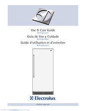 Electrolux EI32AR65JS Use And Care Manual