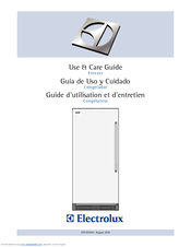 Electrolux EI32AF65JS Use And Care Manual