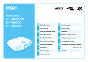 Epson EH-TW6000 Quick Start Manual