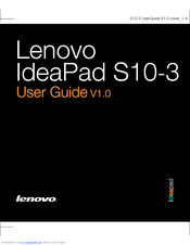 Lenovo 433322U User Manual