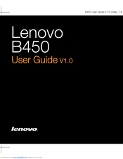Lenovo - G550 2958 NoteBook PC User Manual