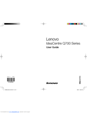 lenovo ideacentre aio 700 user manual