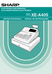 sharp xe a40s instruction manual pdf download rh manualslib com Sharp ER-A170 sharp xe a41s manual