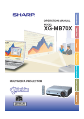 sharp xg mb70x manuals rh manualslib com