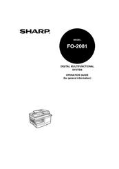 SHARP FO-2081 TREIBER WINDOWS XP