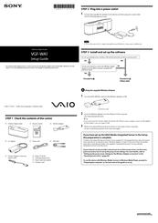 Sony PCG-K17 VGF-WA1 Wireless Adapter Manager Driver UPDATE