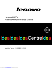Lenovo IdeaCentre H520s Hardware Maintenance Manual