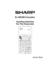 Sharp ELW535B - WriteView Scientific Calculator Operation Manual