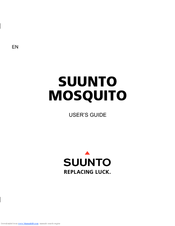 Suunto Mosquito User Manual