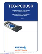 TRENDNET TEG-PCISXPLUS NETWORK ADAPTER WINDOWS 10 DRIVER DOWNLOAD