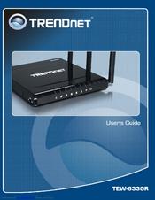 Trendnet tew-633gr default password & login, manuals and reset.