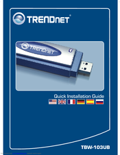 TRENDnet TBW-103UB Wireless Network Adapter Update