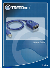 TRENDNET TU-S9 USER MANUAL Pdf Download.
