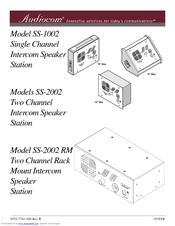 Telex SS-1002 User Manual