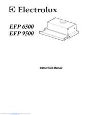 electrolux efp6500x instruction manual pdf download rh manualslib com Electrolux Range Hood aeg electrolux cooker hood manual