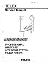 telex tr 200 service manual pdf download 3-pin microphone wiring diagrams telex intercom wiring diagram #39
