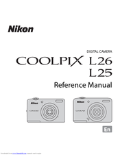 Nikon coolpix l26 manuals.
