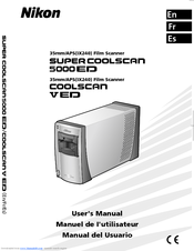 NIKON SUPER COOLSCAN 5000 ED USER MANUAL Pdf Download