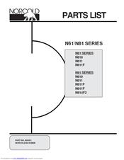 norcold n611 manuals rh manualslib com Norcold Refrigerator Parts Norcold N61