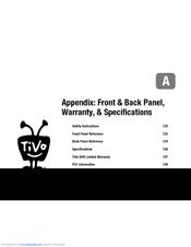 tivo series3 hd manuals rh manualslib com TiVo Learning Remote TiVo Series 4 Manual