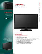 toshiba regza 46 manual pdf
