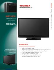 toshiba regza 46rv530u manual daily instruction manual guides u2022 rh testingwordpress co Toshiba TV Manual Toshiba E-Studio203sd Manuals