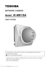 toshiba ik wb15a ip network camera manuals rh manualslib com Network Security Cameras Wireless Network Camera