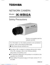 toshiba ik wb02a poe network camera manuals rh manualslib com Network Security Cameras Product Wireless Network Camera