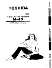 Toshiba M43 Owner's Manual