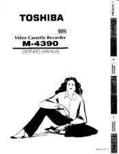 Toshiba M4390 Owner's Manual