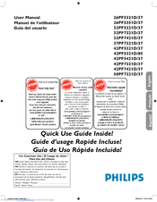 PHILIPS 32PF7321D/37 Quick Use Manual