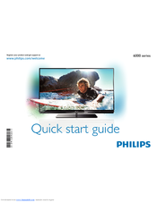 PHILIPS 42PFL6067T Quick Start Manual