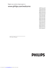 PHILIPS 32PFL6606H User Manual