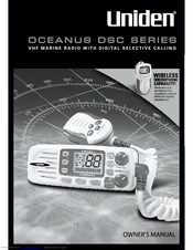 Uniden OCEANUS DSC Series Owner's Manual