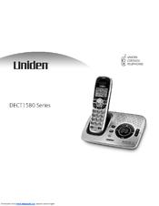 uniden dect1580 4wxt manuals rh manualslib com uniden dect1588-2 manual uniden dect1588-5 manual