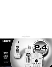 uniden dxai3288 2 series manuals rh manualslib com Uniden Answering Machine Manual Uniden 7 Inch Tablet Manual