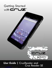 velocity cruz r101 user manual pdf download rh manualslib com Cruz Reader Charger Cruz Reader Problems