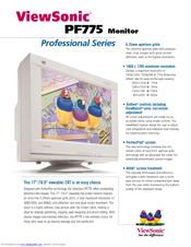 viewsonic pf775 manuals rh manualslib com User Training Example User Guide